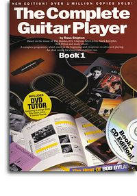 Complete Guitar Player guitar book 1 book/cd/dvd