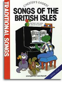 Chesters Easiest Traditional Songs of the British Isles for piano