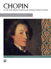 Chopin 19 Most Popular Piano Selections
