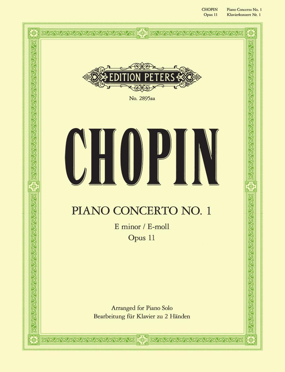 Chopin Piano Concerto no. 1 in E minor opus 11 for piano solo arr Fisher