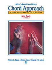 Chord Approach Solo Book Level 2 Alfred's Basic Piano Library