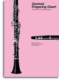 Clarinet Fingering Chart Eb Bb alto and bass