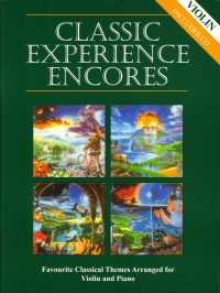Classic Experience Encores violin and piano Book & CD