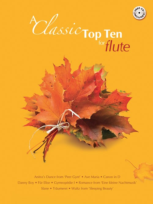 Classic Top Ten for Flute Book & CD