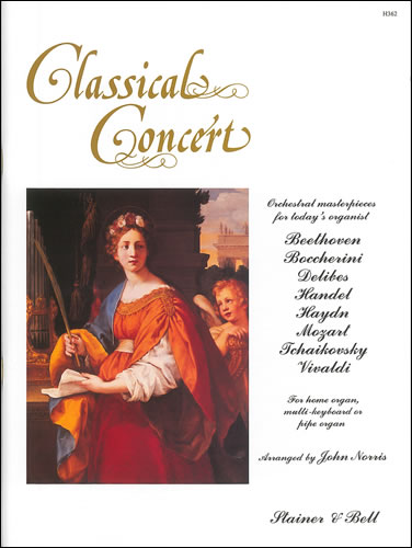 Classical Concert for Organ, arranged by John Norris 1994