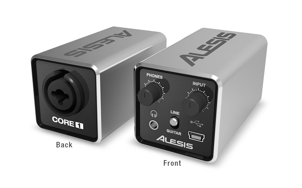 Alesis CORE 1 - 24-Bit Inline USB Audio Interface