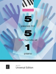 5 Pieces for 5 Left Hands at 1 Piano - Mike Cornick