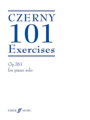 Czerny 101 Exercises for piano op261