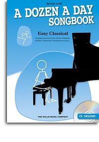 Dozen a Day Easy Classical book 1 Piano book & CD