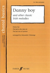 Danny Boy and other classic Irish melodies SA.Men and piano