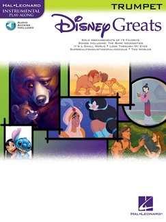 Disney Greats for Trumpet Book & with  CD accompaniment