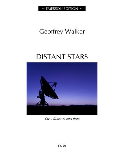 Walker Distant Stars 5 flutes - alto flute