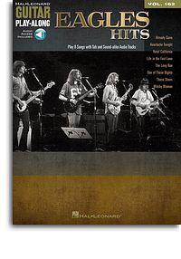Eagles Hits Guitar Play-along vol162 book & audio