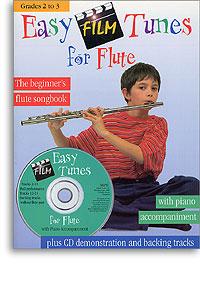 Easy Film Tunes for Flute book & CD grades 2-3