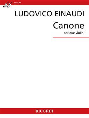 Einaudi Canone per due violini (2 Violins)
