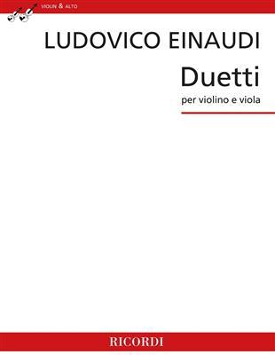 Einaudi Duetti for Violin and Viola