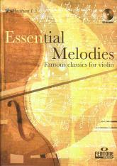 Essential Melodies for Violin Book & CD arr. Manning