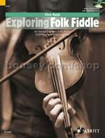 Exploring Folk Fiddle Haigh book and CD