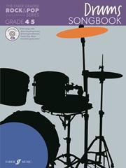 Faber graded Rock & Pop Drums Songbook grade 4-5 Book/cd