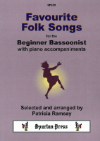 Favourite Folk Songs for the Beginner Bassoonist with piano accomps