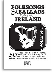 Folksongs & Ballads popular in Ireland volume 1 melody, words, chords