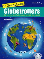 Globetrotters Eb Saxophone bk/cd Stephen