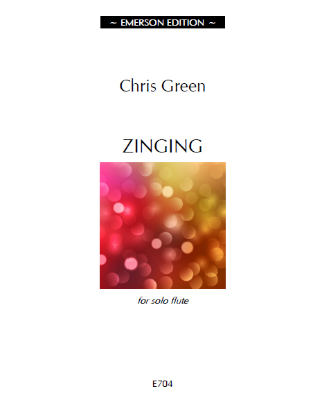 Green, Chris - Zinging for solo Flute