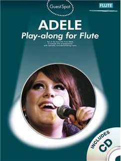Guest Spot Adele for Flute book & CD