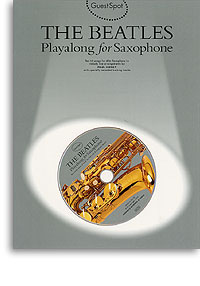 Guest Spot The Beatles book & CD Alto Saxophone
