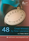 Great Winners Trombone bass clef book and CD
