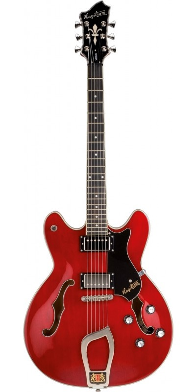 Hagstrom Viking - Wild Cherry - Pre Owned with Hag Bag included