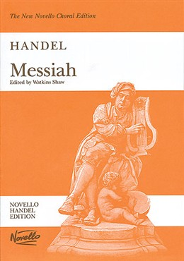 Handel Messiah vocal score Watkins Shaw edition