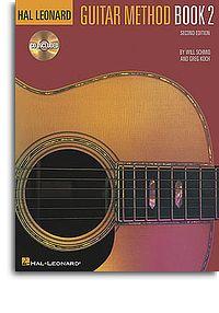 Hal Leonard Guitar Method Book 2 2nd Edition book & CD Schmid & Koch