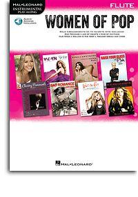 Hal Leonard Instrumental Play-Along: Women of Pop - Flute (Book/Online Audio)