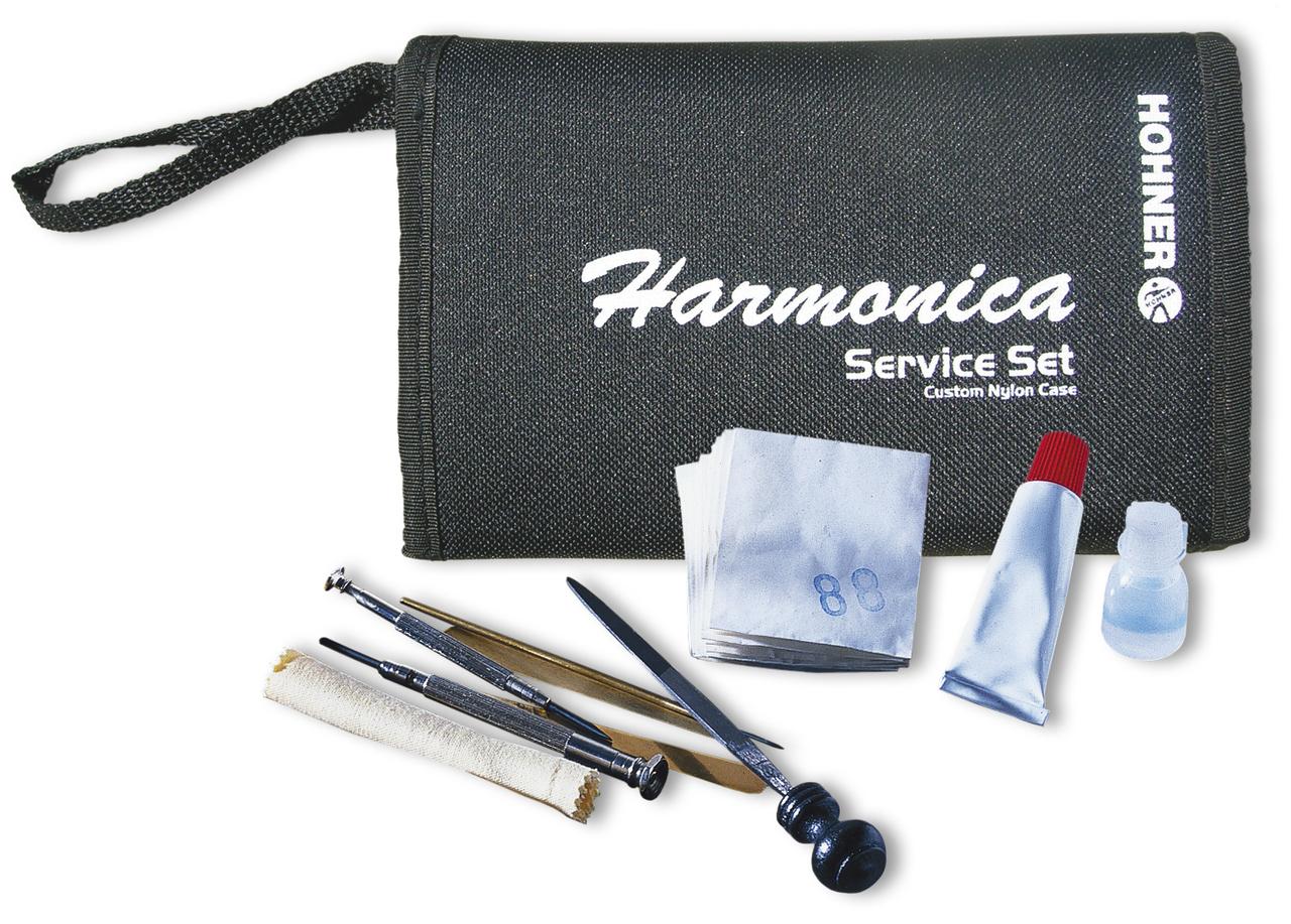 Hohner Harmonica Service Set - the right tools from the world's No.1 Harmonica Company