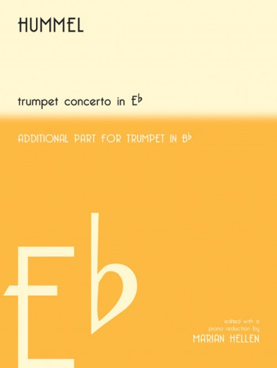 Hummel Trumpet Concerto in Eb (with extra Bb part)