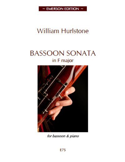 Hurlstone, William - Bassoon Sonata in F major