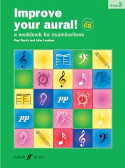 Improve your Aural grade 2 bk/cd Harris and Lenehan