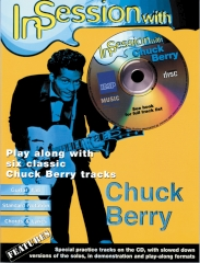In Session with Chuck Berry Guitar Tab Book/CD