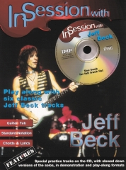 Beck, Jeff In Session with  Guitar Tab Book & CD