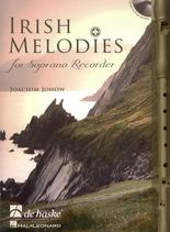 Irish Melodies for Soprano Recorder (Descant) Johow Book & CD