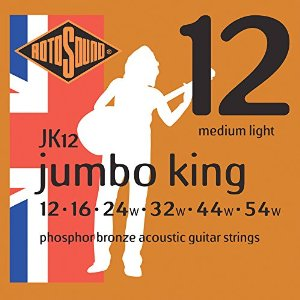 Rotosound Phosphor Bronze Jumbo King Medium Light