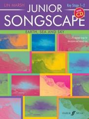 Junior Songscape - Earth,Sea and Sky by Lin Marsh Book & CD