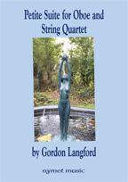 Langford, Gordon Petite Suite for Oboe and String Quartet