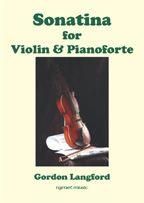 Langford, Gordon - Sonatina for Violin and pianoforte
