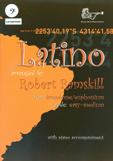 Latino for Trombone Bass clef & CD
