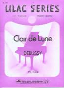 Debussy Clair de Lune piano solo Lilac 105