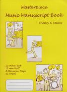 Masterpiece Manuscript 8 stave and lined pages