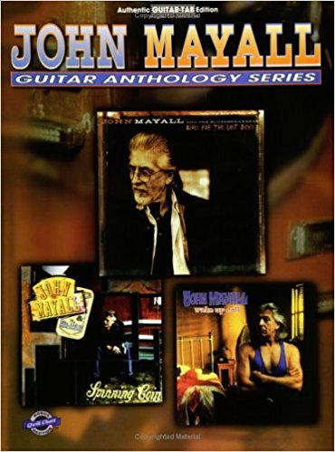 Mayall, John Guitar Anthology Series Tablature incl complete solos