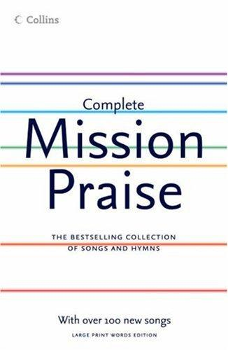 Mission Praise Complete Large Print 2005 edition New